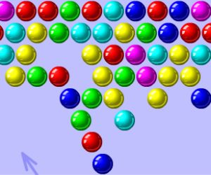 play game online bubble shooter